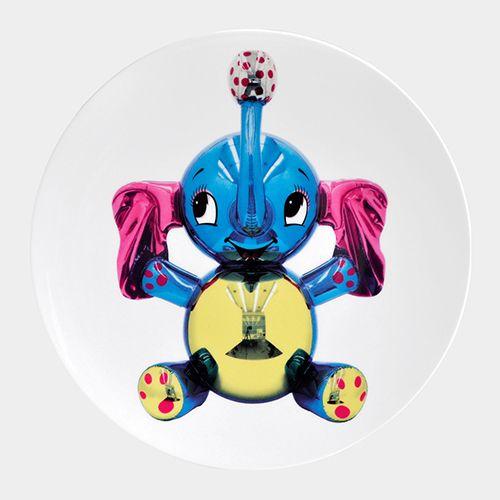 ジェフ・クーンズ×仏高級磁器ベルナルド、コラボプレートがMoMAデザインストアで発売 | ニュース - ファッションプレス