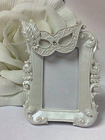 Mask Frame Masquerade Party Favor Keepsake Wedding Sweet 16 Party Supplies