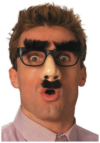 2fc327c3008 Funny Nose Glasses Funny glasses maskComplete any funny costume with these  funny nose glasses! The funny face glasses are black with hairy black eyeb