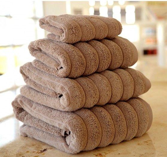 Ręcznik Microline Brown 50x90 cm