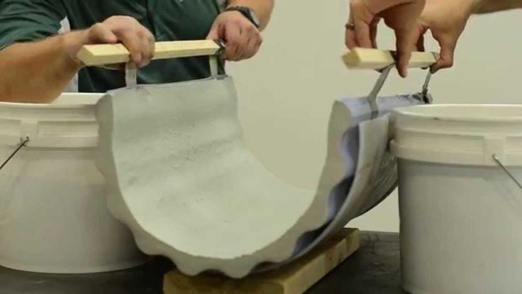 Surecrete Easy How To Bending Concrete Precast GFRC Furnuture Design