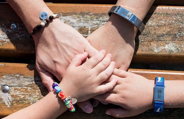 bracelets d'identification médicale