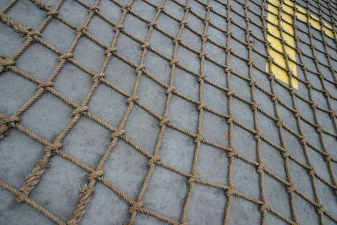 Cómo hacer escaleras de cuerda de malla para parques infantiles                                                                                                                                                                                 Más