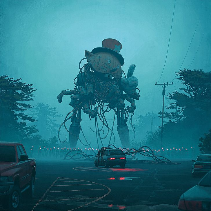 The Incredible Work of Simon Stålenhag - Album on Imgur