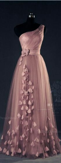 Lovely soft mauve gown