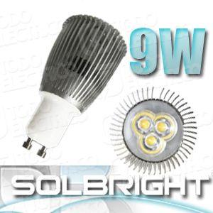 #Espana #iluminacion  #teloenvioporseur #Bombilla #Dicroica #led 9W 6.95€ Iva Inc.  Lámpara Dicroica led 9W  Garantía: 2 años  Materiales: Aluminio  Portalámparas conexión: GU-10 y Mr-16  Voltaje: 250V para GU-10 | 12V para MR-16  Consumo: 9w  Modelo led : CREE LED  HL  Cantidad de led: 3 LED  Vida útil: 50.000 horas Lúmenes:   Grados de apertura: 60º GU-10 NO Requiere transformador conexión directa a 230V  MR-16 Requiere transformador de 12V de ojo de buey tradicional Dimensiones 50Ø x 88mm