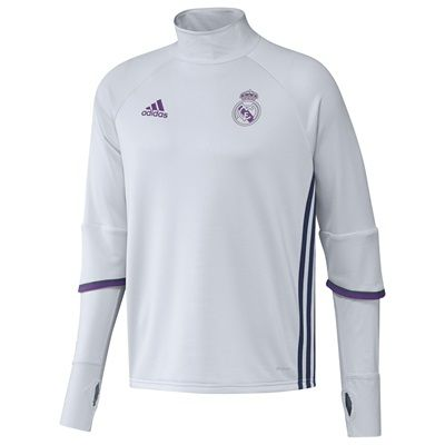 Real Madrid Training Top - White: Real Madrid Training Top - Show your pride with this men's Real Madrid… #RealMadridShop #RealMadridStore