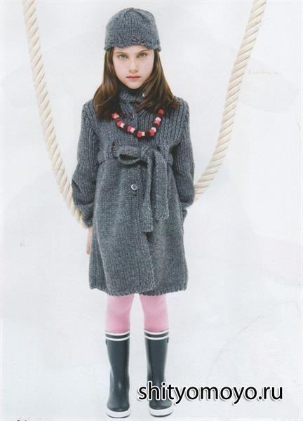 Детское пальто для девочки каталог