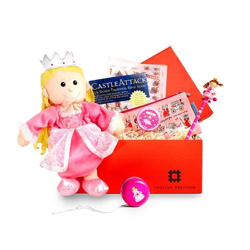 Little girls will love delving into this box of delights, filled with a hand-picked selection of our most popular girls' gifts.