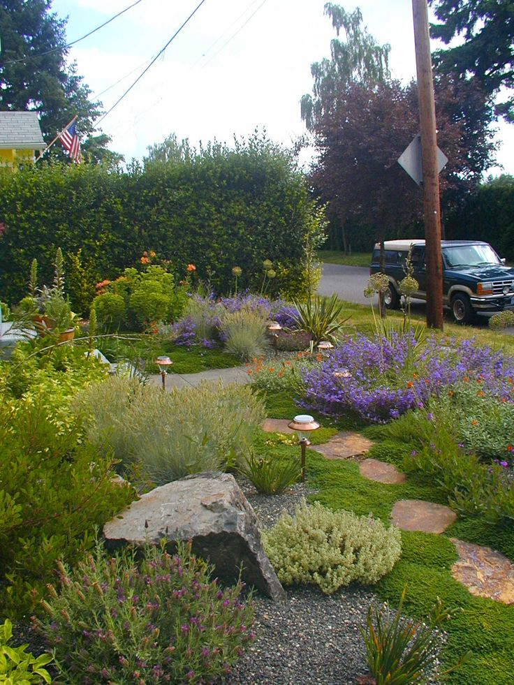 drought tolerant gardens | ... rock hues in this drought-tolerant example of…