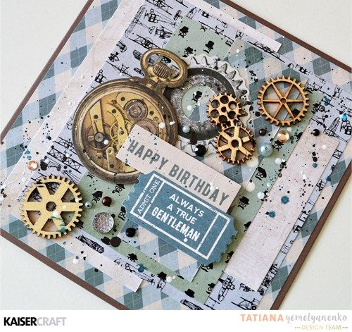 """Have you come across our gorgeous mini wooden flourish packs? We think they're a must have addition to any paper craft project and toady, the Design Team are creating with our new Barber Shoppe collection featuring these fun little embellishments! Lets Check out their wonderful inspirational creations …. """" The Gentleman's Club"""" Tags by Rikki Graziani I created these for Fathers Day – my kids will write there special notes on the back of the tag for their Dad and they will be used on a…"""