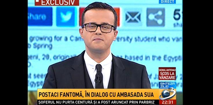 """EXCLUSIV: Interviu cu """"MORTUL"""" lui Gâdea care l-a provocat pe ambasadorul american să vorbească despre cazul ANAF-Antena 3/ VREA ÎNFRUNTARE ÎN DIRECT CU MIHAI GÂDEA"""
