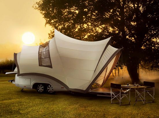 really cool tent camper.