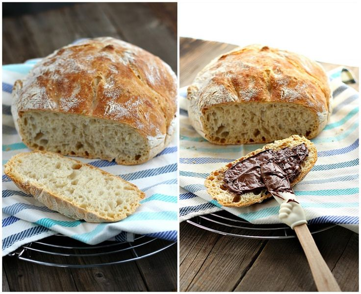 Il Pane senza impasto o no-knead bread è una ricetta magica perché con piccoli gesti e senza alcuna difficoltà ci permette di avere in casa un pane buono come quello cotto nel forno a legna. Non fatevi spaventare dai lunghi tempi di lievitazione perché dopo aver fatto l'impasto in 1' mi