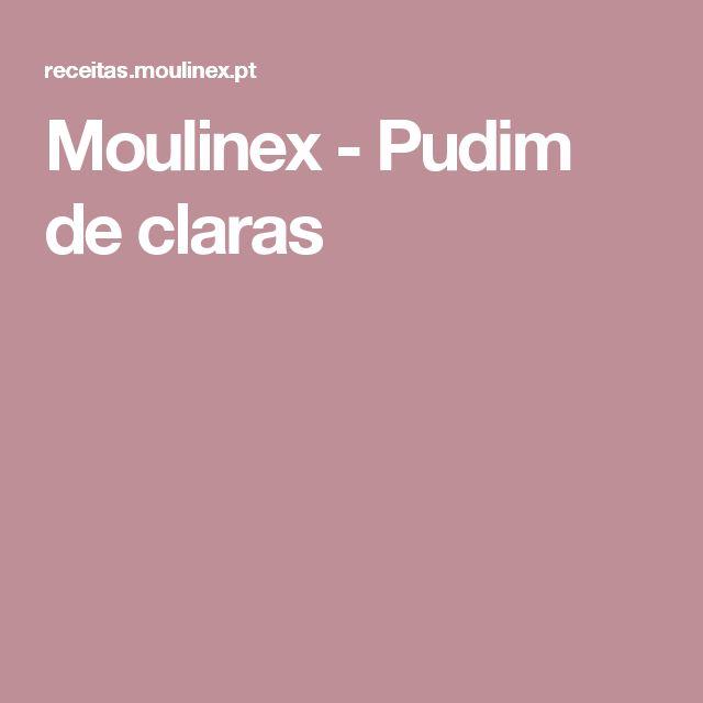 Moulinex - Pudim de claras