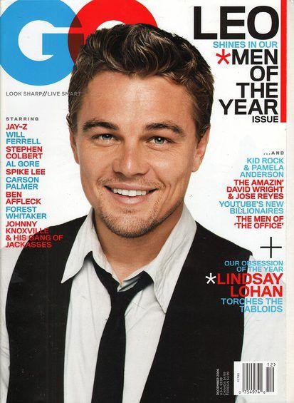 GQ Leonardo DiCaprio December 2006