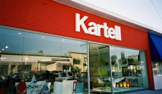Kartell on Beverly at Robertson in Los Angeles