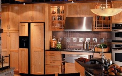 Kitchen, Glamor Picture Designs Nice Virtual Kitchen Designer Rustic Kitchen Natural Cherry Cabinets Craftsman Style Good White Color Picture Nice Shaped Kitchen Island ~ The Virtual Kitchen Cabinet Designer That Looks So Cool And Beautiful With The Good Concepts