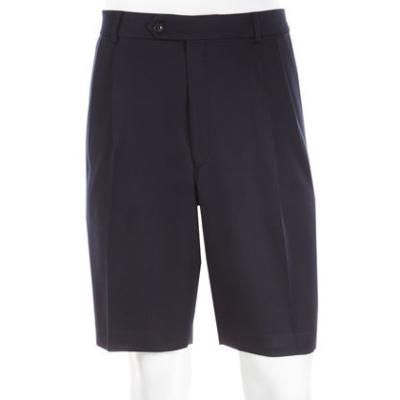 $46, Navy Shorts: Neiman Marcus Golf Shorts Navy. Sold by Last Call by Neiman Marcus. Click for more info: https://lookastic.com/men/shop_items/56468/redirect