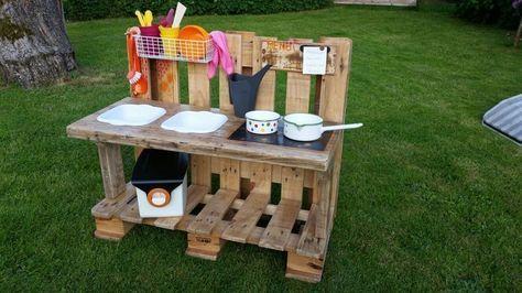 55 besten matschk che bauen bilder auf pinterest kinder garten sandkasten und drau en spielen. Black Bedroom Furniture Sets. Home Design Ideas