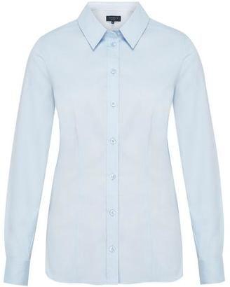 Petite Pure Cotton Oxford Shirt - Shop for women's Shirt - PALE BLUE Shirt