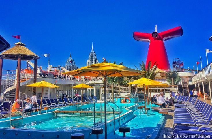 Carnival Fantasy - Carnival Cruise Ship Mobile Alabama Port #BayouTravel