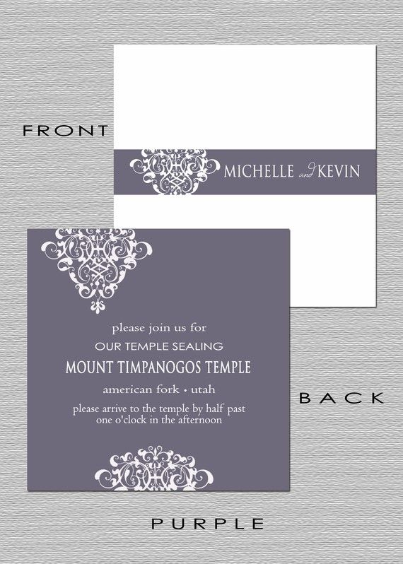 Lds Sealing Invitation Wording with good invitations template