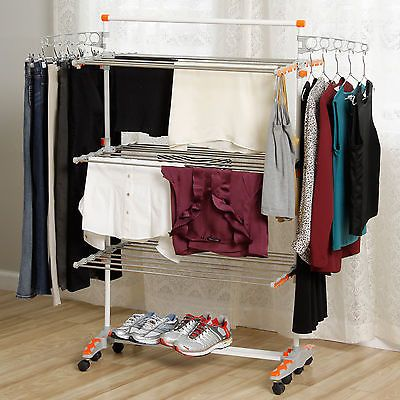 78 ideas about heavy duty clothes rack on pinterest for Drying cabinets for clothes