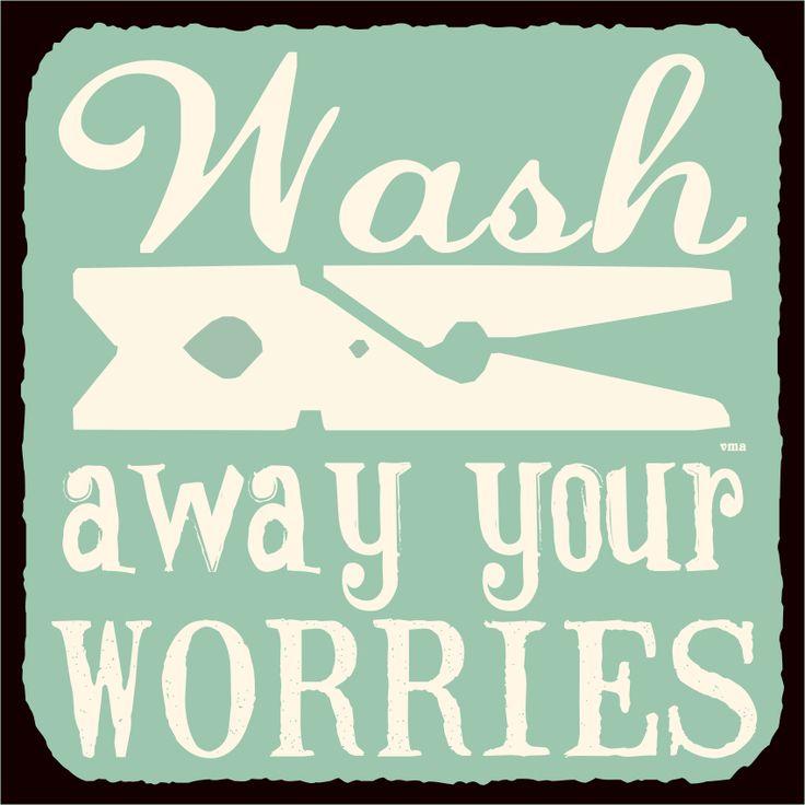para desestresarse mientras se lava...