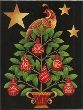 On the first day of Christmas, my True Love gave to me, a Partridge in a Pear Tree . . .