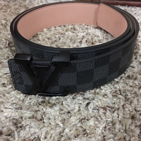 Louis Vuitton Belt All black W/black buckle ver nice belt and super clean Louis Vuitton Accessories Belts
