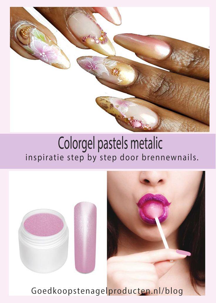 Lente op je nagels met de pastel metalic color gels. Bekijk de kleuren en step by step lente creatie. https://www.goedkoopstenagelproducten.nl/blog/color-gel-pastel-metalic-inspiratie/