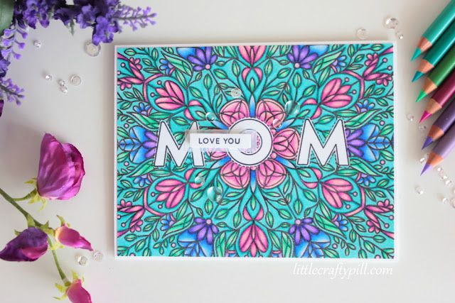 """Little Crafty Pill: Simon Says Stamp """"Mothers, Fathers and Flowers"""" BLOG HOP + GIVEAWAY"""