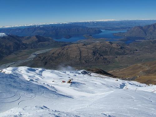 Treble Cone Ski Area, Wanaka, New Zealand
