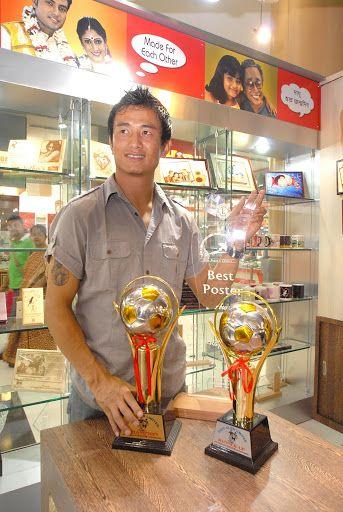 Presto Felicitates Baichung Bhutia
