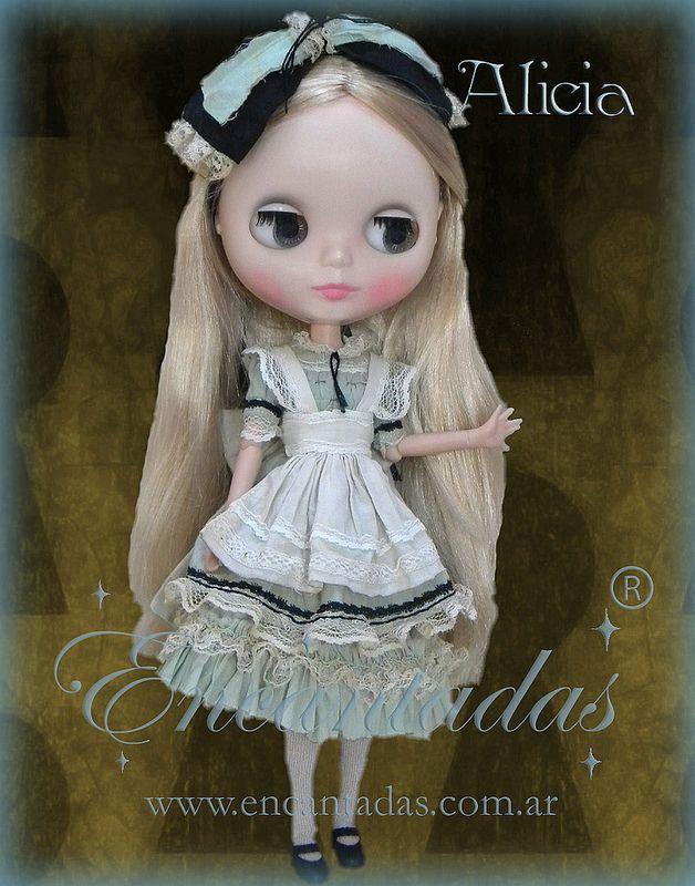 Alicia outfit para Blythe - Diseñado y confeccionado a pedido