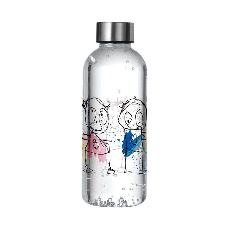 Butelka na wodę 0,65 L Poul Pava Original Icons