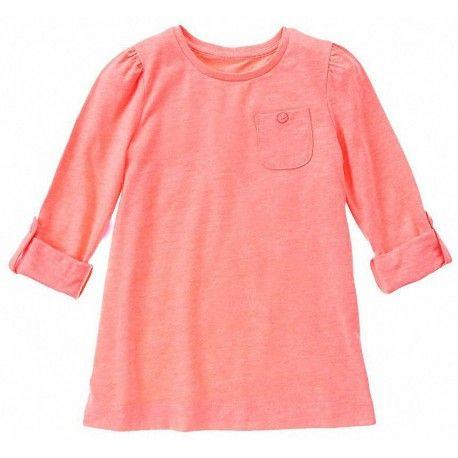 Camiseta Gymboree Slub Jersey con bolsillo