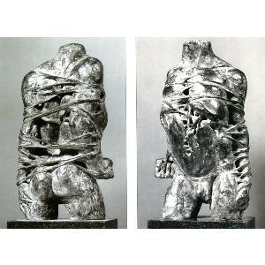 Prigioniero in bronzo 1988, bronzo, Caroline Van Der Merwe http://musapietrasanta.it/content.php?menu=artisti
