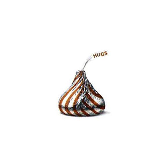 Hershey's Hugs Chocolate Candy: 70-Piece Bag
