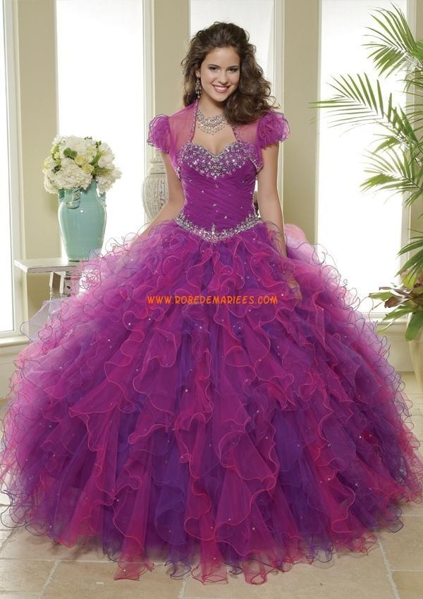 Mejores 113 imágenes de Robe de quinceanera en Pinterest   Vestidos ...