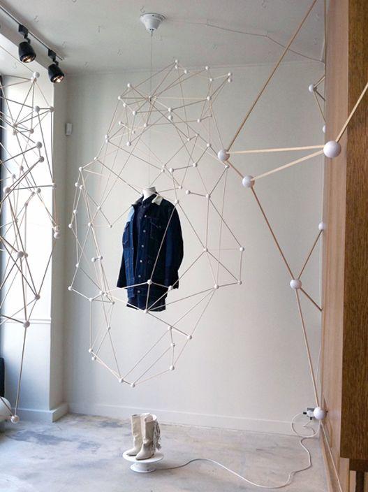Molecular Structure - Isabel Marrant window displays