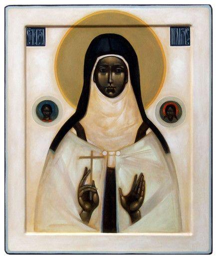 Św. Teresa z Lisieux - Artist Greta Maria Leśko