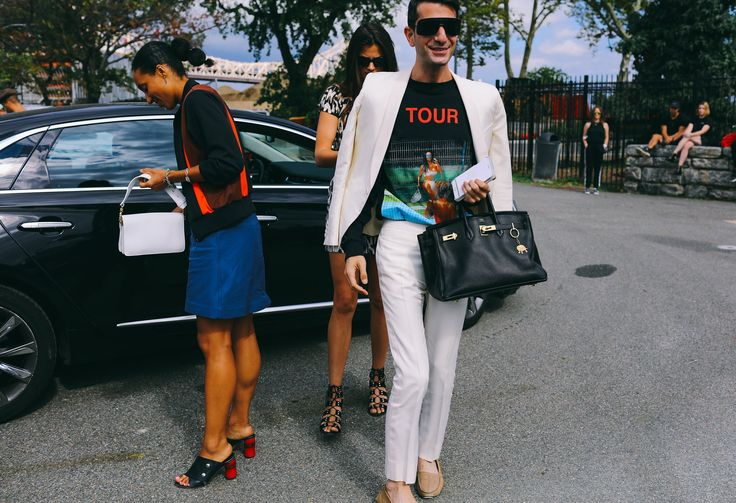 Vogue.com's Chioma Nnadi, Alessandra Codinha, and Edward Barsamian