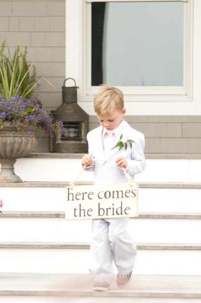 Aww, here comes the #bride! #wedding