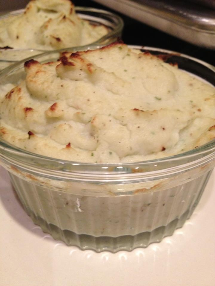 Paleo Chive and Onion Mashed Potatoes