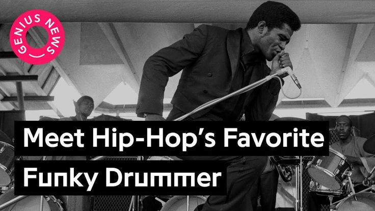 "Here's The ""Funky Drummer"" Sampled by Dr. Dre & Kanye West 