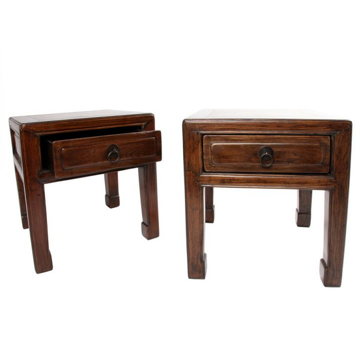 A Pair of Chinese Stools with Drawers | From a unique collection of antique and modern stools at http://www.1stdibs.com/furniture/seating/stools/
