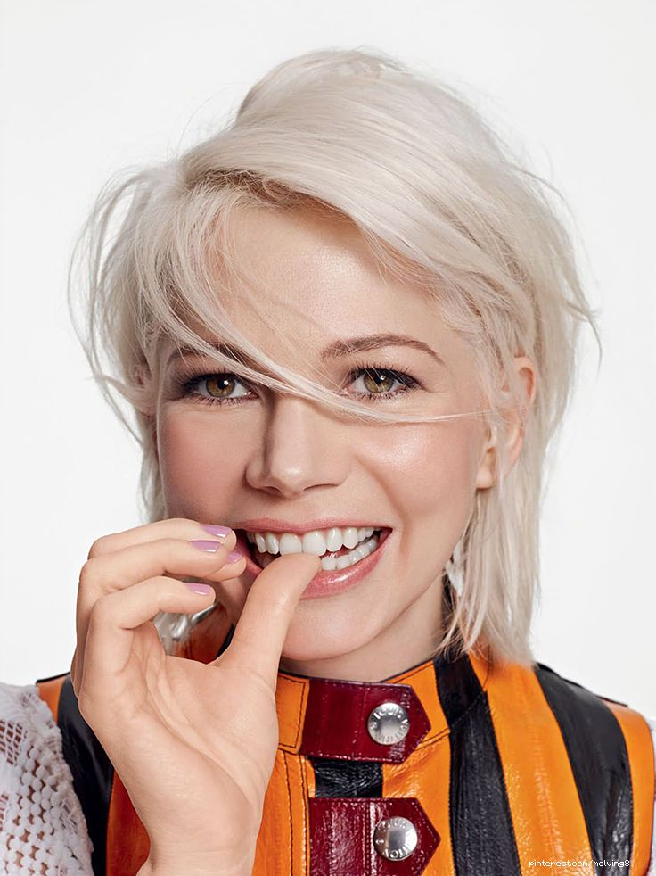Michelle Williams by Kerry Hallihan for Elle UK • 2015