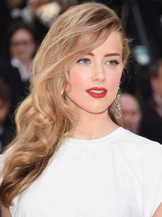 Amber Heard : hair & face